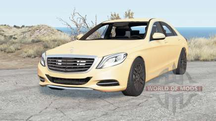 Mercedes-Benz S 500 (W222) 2014 pour BeamNG Drive