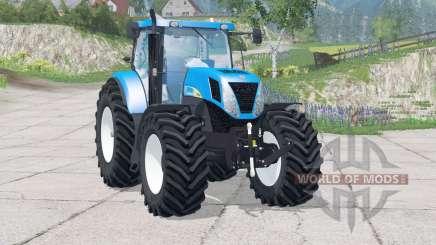 New Holland T7030〡Drehzahl erhöht für Farming Simulator 2015
