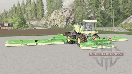 Krone BiG M 500〡 largeur de travail de 22,6 mètres pour Farming Simulator 2017