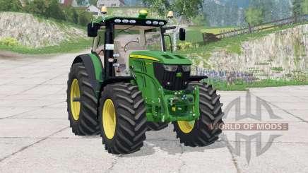 John Deere 6210R〡instrumentpanel belysning pour Farming Simulator 2015