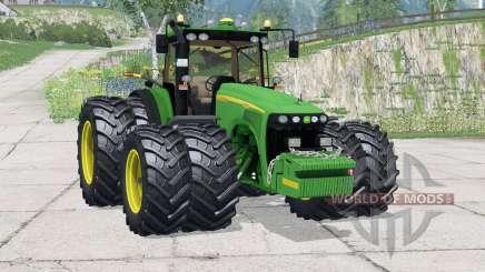 John Deere 8520〡neue Reifen für Farming Simulator 2015