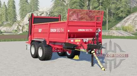SIP Orion 120 TH〡wheels Auswahl für Farming Simulator 2017